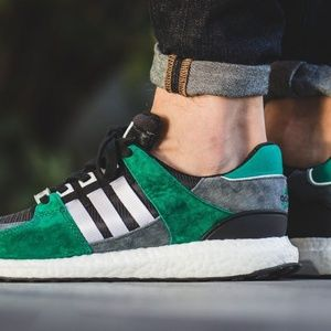 Adidas EQT 93/16 Support Green Running Shoes